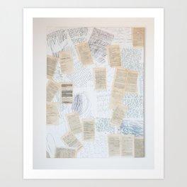 Reading 1. c) Art Print