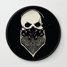 Cover your Mouth Wall Clock