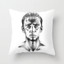 Tom Hiddleston 3 Throw Pillow