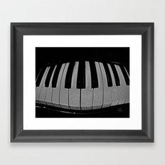 So When the Music's Over Framed Art Print
