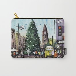 Fort Worth Christmastime Carry-All Pouch