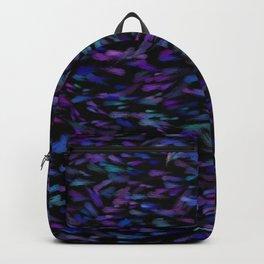 Deep Vibrant Jewel Tones Backpack