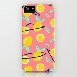 Lemons party #society6 #decor #buyart iPhone Case