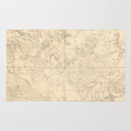 Burritt's Constellations (July, August, September) (1856) Rug
