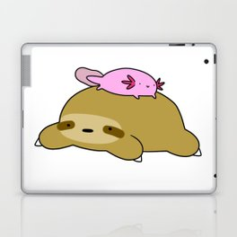 Axolotl and Sloth Laptop & iPad Skin