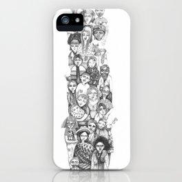 people...people everywhere iPhone Case