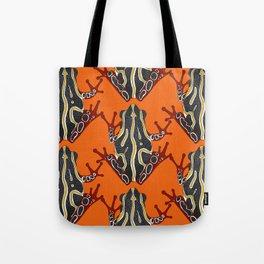 congo tree frog orange Tote Bag