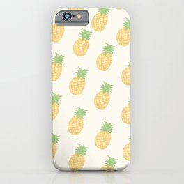 Tropical Summer Pineaple iPhone Case