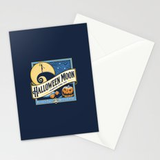 Halloween Moon Stationery Cards