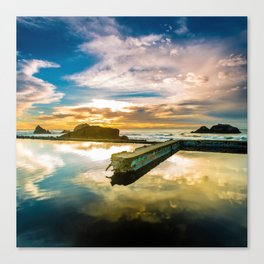 Sutro Sunset Canvas Print