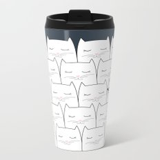 Cats Metal Travel Mug
