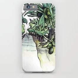 Olive Trees on the Camino Portugués  iPhone Case