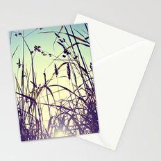 The most important thing in life aren't things Stationery Cards
