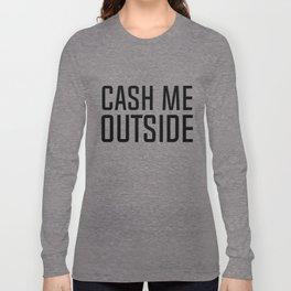 outside Long Sleeve T-shirt