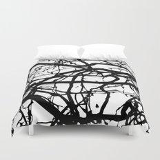 black branches Duvet Cover