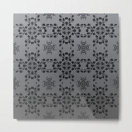 Floral Vines Wallpaper Metal Print