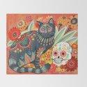 Dia De Los Muertos Cat by angelarizza
