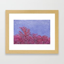 Fantasy Landscape Theme Poster Framed Art Print