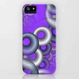 3D abstraction -12- iPhone Case