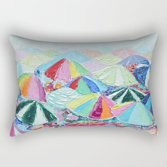 Shore Day Rectangular Pillow
