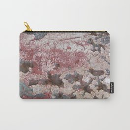 Cracking Paint and Rust Abstract Carry-All Pouch