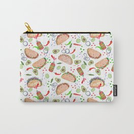 """Tacos are """"Hot Stuff"""" and we love them! Carry-All Pouch"""