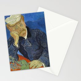 Vincent van Gogh - Doctor Paul Gachet (1890) Stationery Cards