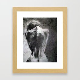 Filthy. Framed Art Print