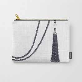 Black Pearls Carry-All Pouch
