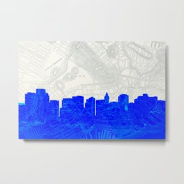 Ye Olde/New Boston Metal Print