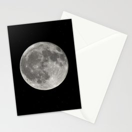 Full Moon. Today Stationery Cards