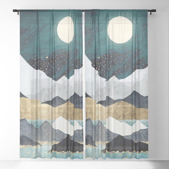 Ocean Stars Sheer Curtain