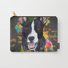 Black pup Carry-All Pouch