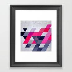 glww xryma Framed Art Print
