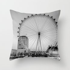 London Eye, London Throw Pillow