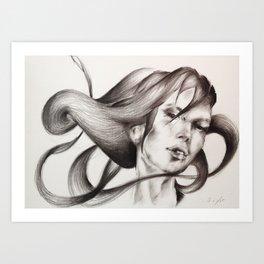 Snake dance Art Print