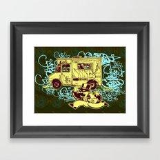 Tag Business Framed Art Print