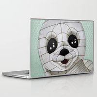 propaganda Laptop & iPad Skins featuring Baby Seal Propaganda - Hemlock  by alterEGO