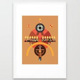 pentecost Framed Art Print