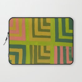 Painted Color Block Squares Laptop Sleeve