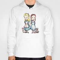 dorothy Hoodies featuring Alice & Dorothy by Ludwig Van Bacon