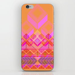 Geo-lucha iPhone Skin