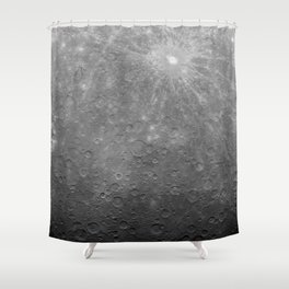Intimate Moon Shower Curtain
