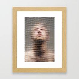 Through The Screen #3 Framed Art Print