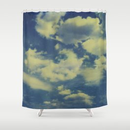 Instant Series: Clouds II Shower Curtain
