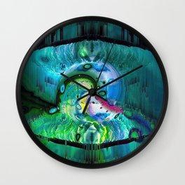 The Pearl Of Wisdom Wall Clock