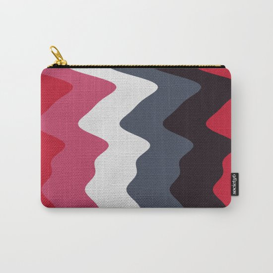 Abstract lines 23 Carry-All Pouch