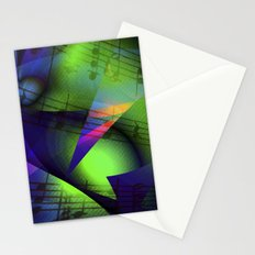Blues Music Stationery Cards
