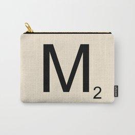 Scrabble Lettre M Letter Carry-All Pouch