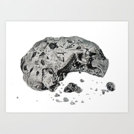 Cookie Crumb Art Print